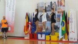 Podio Jeunesse Campionati Italiani UISP