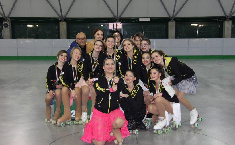 I PODI DEL CAMPIONATO PROVINCIALE SOLO DANCE SI COLORANO DI GIALLO E NERO
