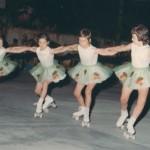 primo quartetto skating club mottense anno 1970