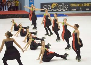 Gruppo Jeunesse questione di Buon Gusto, seconde classificate campionato regionale 2016