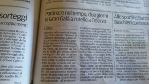 La Tribuna di Treviso 19 febbraio 2016