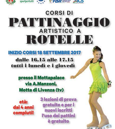 AL VIA I CORSI DI PATTINAGGIO ARTISTICO DELL'ITALIAN SHOW