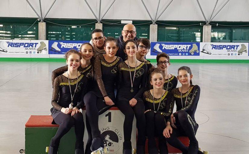 CAMPIONATO PROVICIALE SOLO DANCE: ITALIAN SHOW COLORA I PODI DI GIALLO NERO